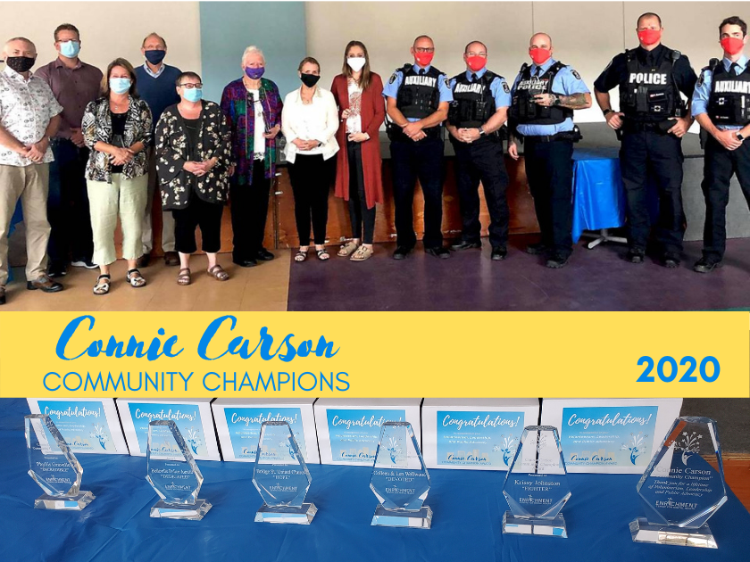 Community Champions honoured for Volunteerism, Leadership and Public Advocacy amid pandemic