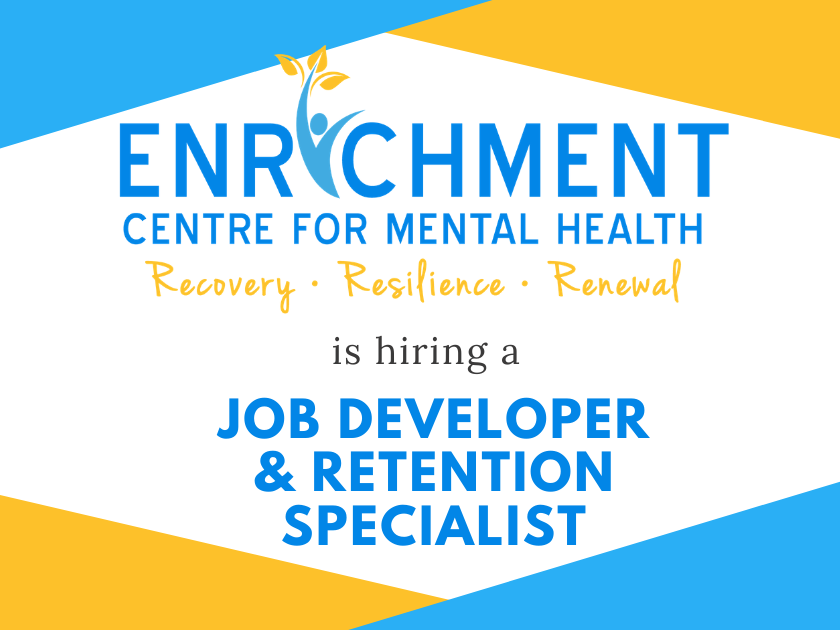 Enrichment Centre for Mental Health is Hiring