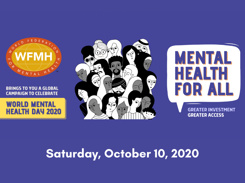 World Mental Health Day 2020 – Greater Investment – Greater Access