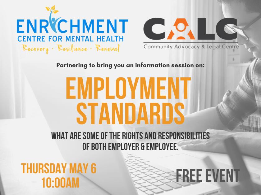 Virtual Employment Standards Workshop May 6