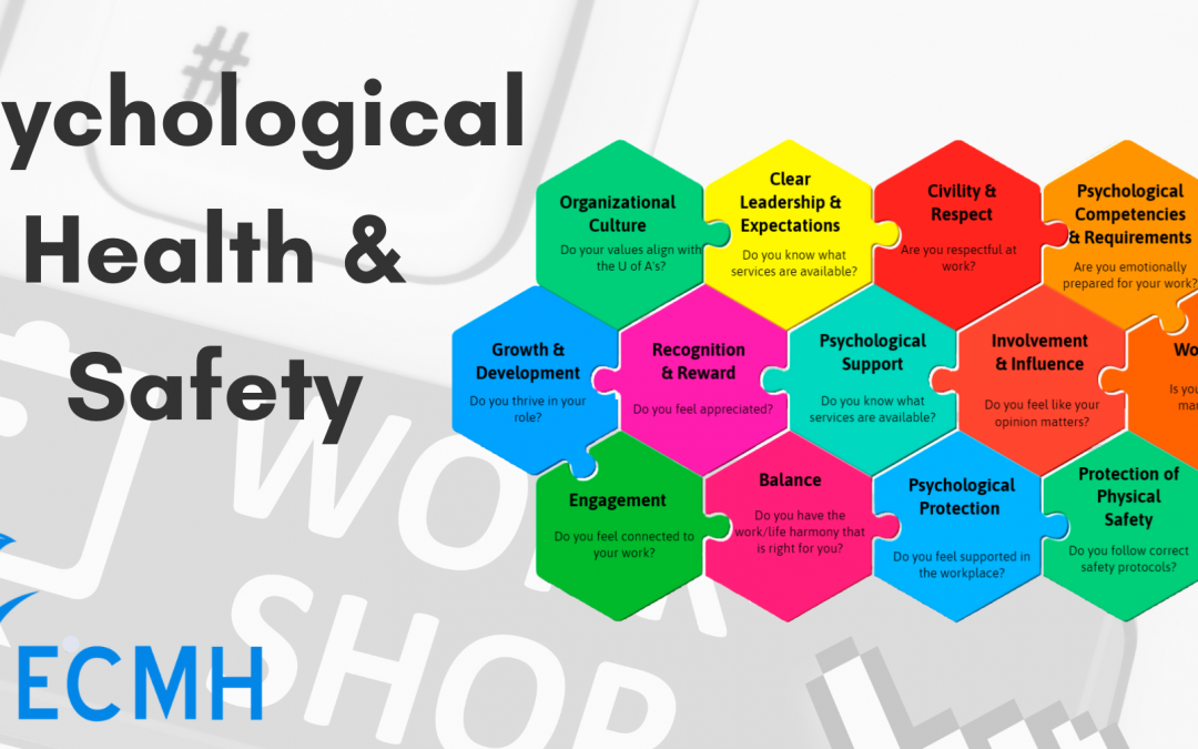 Psychological Health & Safety in the Workplace – Online workshop
