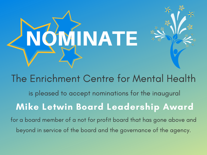 ECMH announces the Inaugural Mike Letwin Board Leadership Award to be presented at their AGM